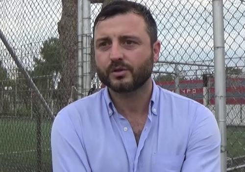 Δηλώσεις του Γ. Λαζάρου για τον αγώνα με τον Ηρακλή Περιστερίου (11/10/2018)